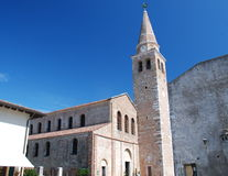 教会eufemia grado意大利圣诞老人 免版税图库摄影