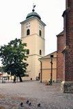 教会fara rzeszow 免版税库存照片