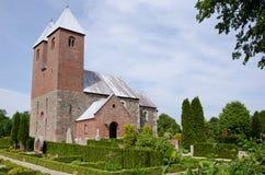 教会fjenneslev 免版税图库摄影