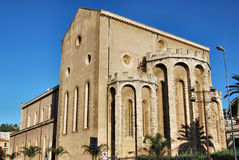 教会francesco ・墨西拿s 免版税图库摄影