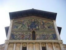 教会frediano意大利lucca圣徒托斯卡纳 库存照片