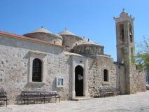教会geroskipou 库存图片