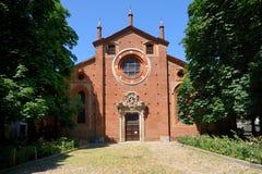 教会gessate意大利米兰pietro ・圣 免版税库存图片