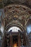 教会gesu意大利巴勒莫西西里岛 免版税图库摄影