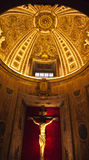教会gesu意大利阴险的人罗马 免版税库存图片
