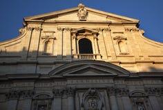 教会gesu意大利阴险的人罗马 图库摄影