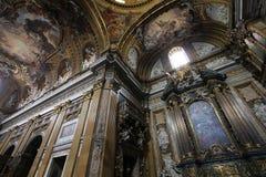 教会gesu罗马 免版税图库摄影