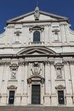 教会gesu 免版税库存图片
