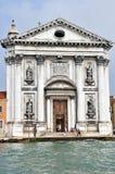 教会gesuati我威尼斯 库存照片