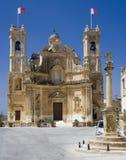 教会gharb gozo马耳他 库存图片