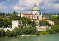 教会giorgio ・意大利圣・维罗纳 免版税库存照片