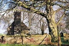 教会grinsdale 免版税库存图片