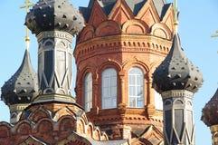 教会grobovskaya spaso 库存图片
