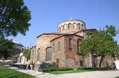 教会hagia艾琳・伊斯坦布尔 库存照片