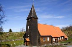 教会hamre侧视图 免版税图库摄影