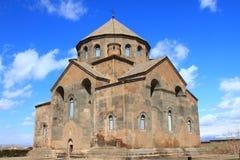 教会hripsime 图库摄影