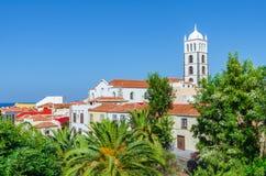 教会Iglesia de圣安娜在加拉奇科,特内里费岛 免版税库存照片