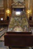 教会ignatius罗耀拉・罗马圣徒 库存图片