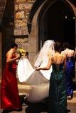 教会iii婚姻 库存图片