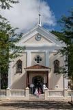 教会Indaiatuba圣保罗 库存照片