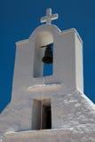 教会Ios海岛 库存图片