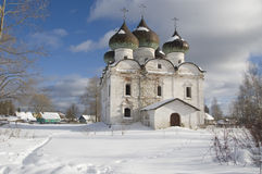 教会kargopol复活 免版税库存照片