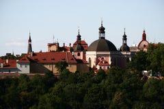教会karlov 免版税库存图片