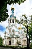 教会karlovy俄语变化 库存照片