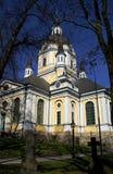 教会katarina斯德哥尔摩 库存图片