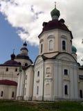 教会kirillov 图库摄影