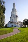 教会kolomenskoye莫斯科俄国俄语 免版税图库摄影