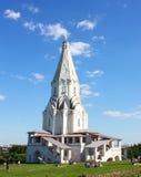 教会kolomenskoye莫斯科 免版税库存图片