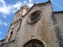 教会korcula 库存图片