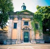 教会krizanke卢布尔雅那 免版税图库摄影