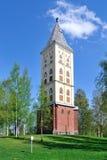 教会lappeenranta玛丽st 免版税库存照片