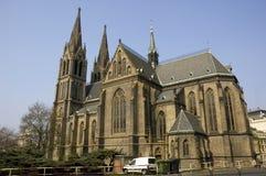 教会ludmila圣徒 免版税库存图片