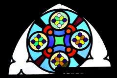教会luteran视窗 免版税库存图片