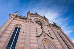 教会marco圣valvasone 免版税库存照片