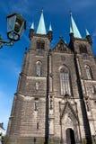 教会在Chrudim 免版税库存照片
