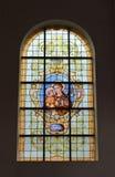 教会Notre Dame辅助财宝Claires 库存照片