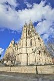 教会Notre Dame de拉埃肯在布鲁塞尔 库存图片