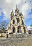 教会Notre Dame de拉埃肯在布鲁塞尔 免版税库存照片