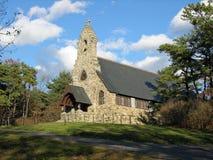 教会ogunquit石头 免版税库存图片