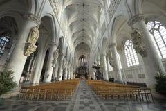 教会Onze辛迪里夫Vrouw在deDijlekerk 免版税图库摄影