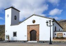 教会Parroqial de圣玛丽亚, Senes村庄 库存图片