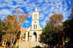 教会Pisco Elqui 图库摄影