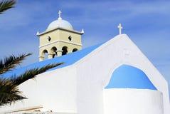 教会platanias 库存图片