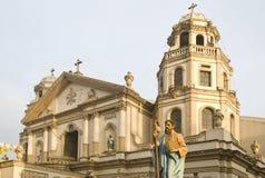 教会quiapo 免版税图库摄影