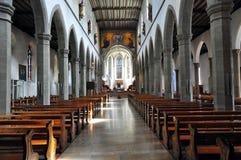 教会ravensburg城镇 免版税库存照片