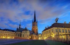 教会riddarholmen 免版税库存图片